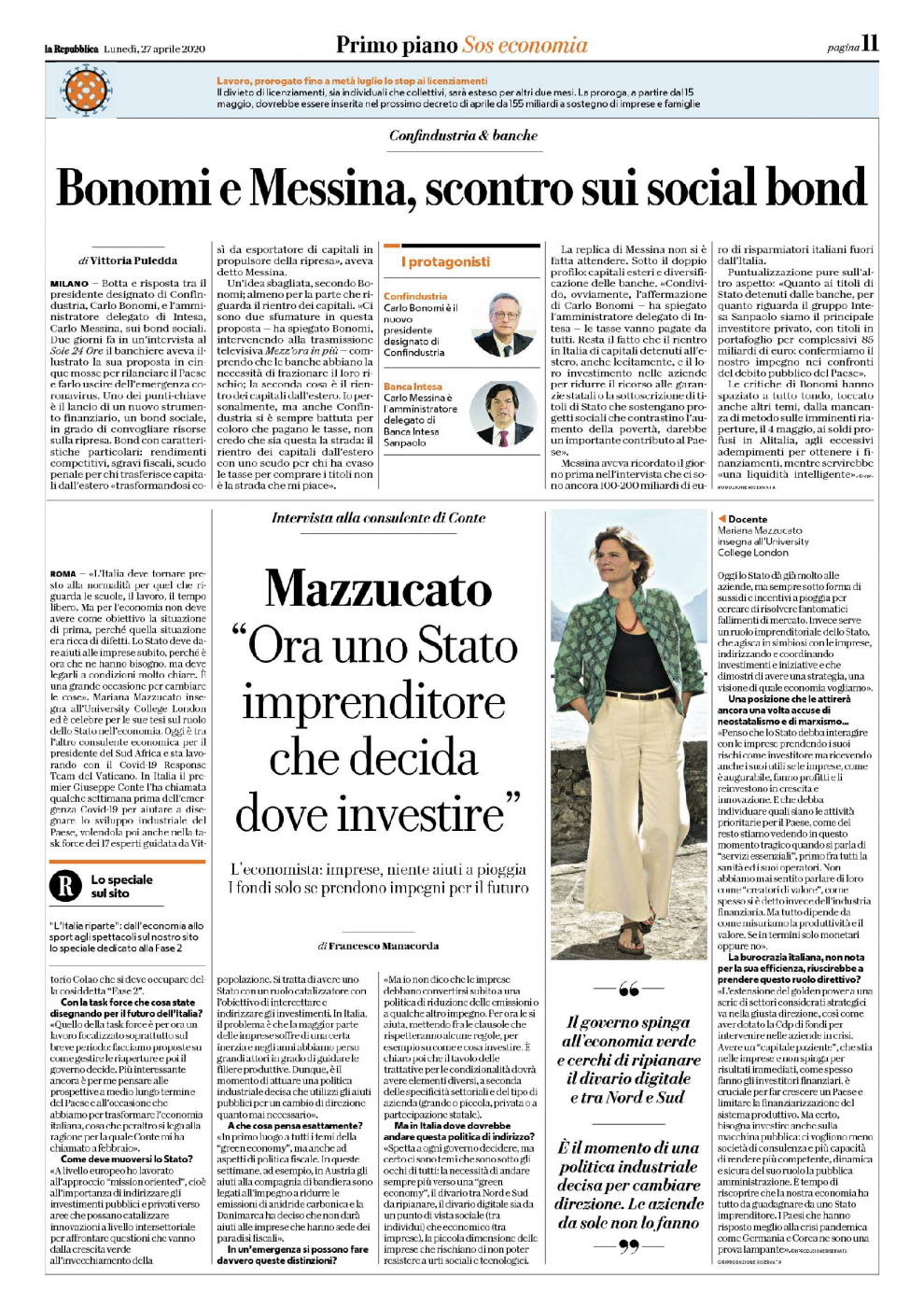 La Repubblica_interview_spread