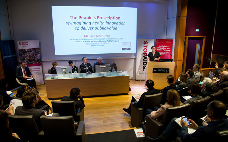 Mariana Mazzucato presents The people's prescription report