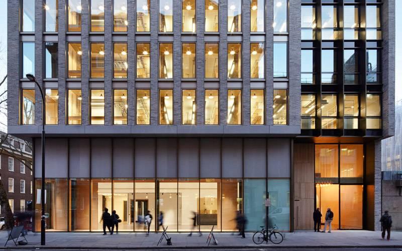 Gordon Street building frontage