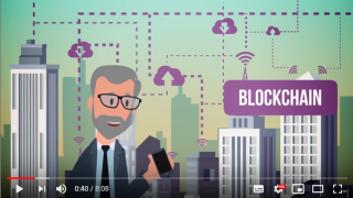 blockchain video snippet