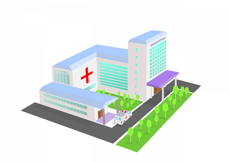 healthcare facilities 3d format