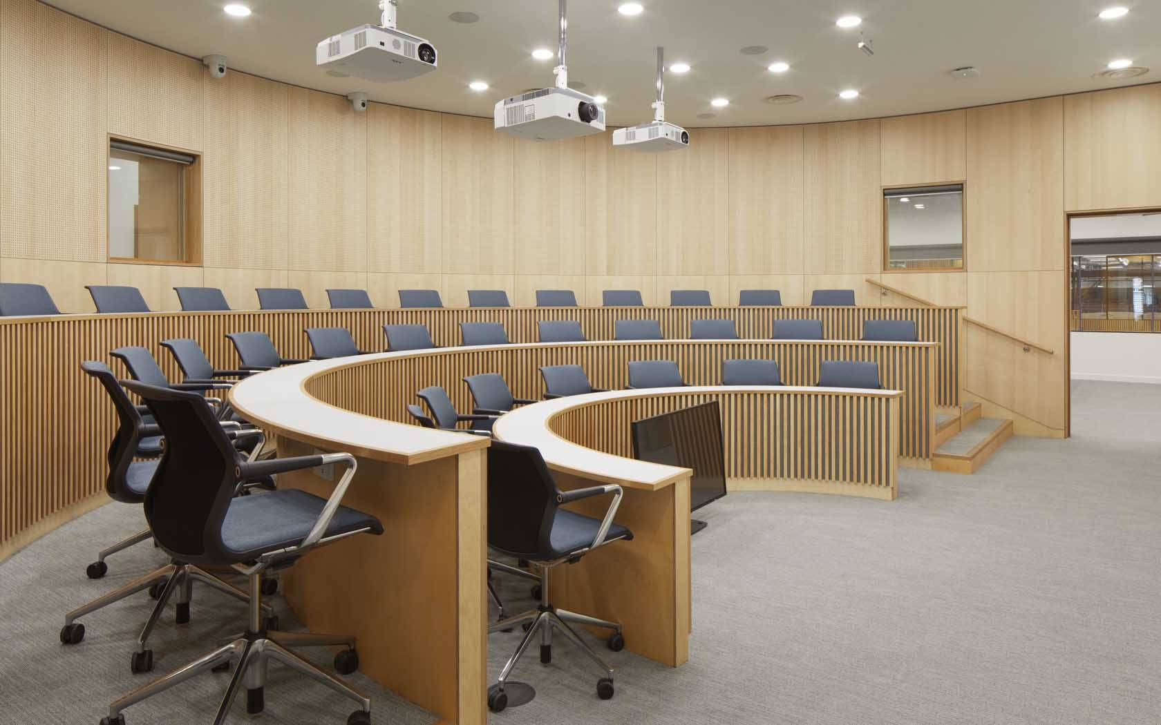 The lecture theatre in the Bartlett Real Estate Institute