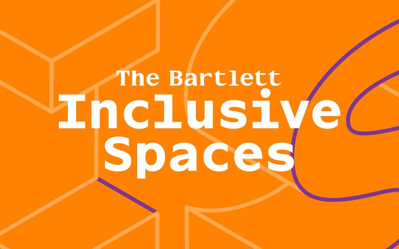 Inclusive Spaces logo in orange