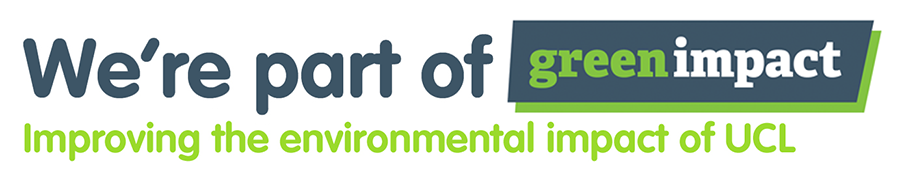 We're part of Green Impact - improving the environmental impact of UCL