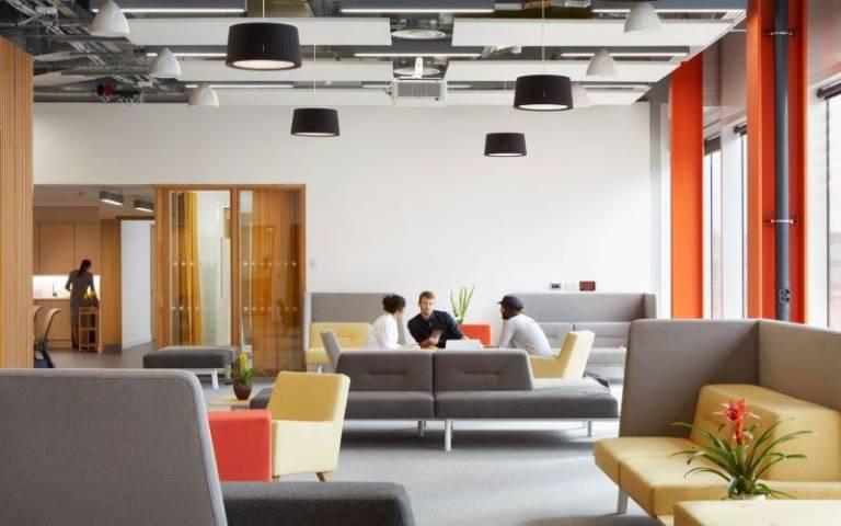 Image of sofas in Real Estate Institute