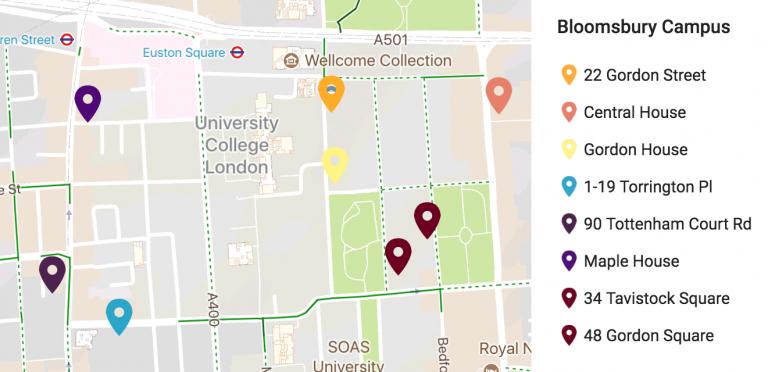 bloomsbury_campus_map