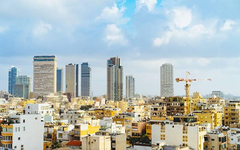 Inequality city scape
