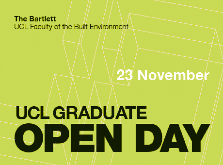 UCL Graduate Open Day