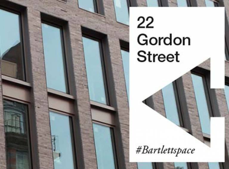 22 Gordon Street #Bartlettspace