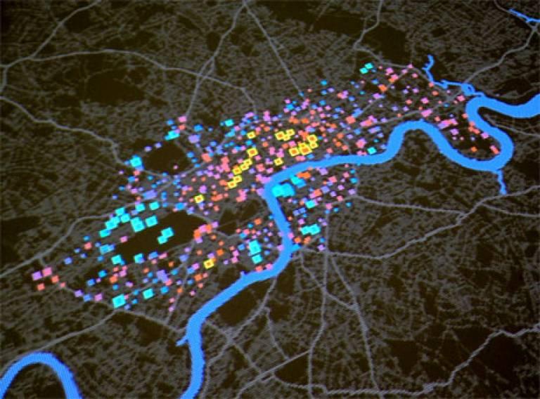 CASA visual map of London