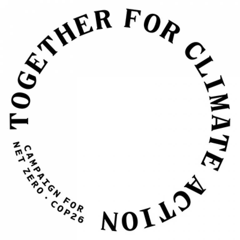 Together for climate action roundel