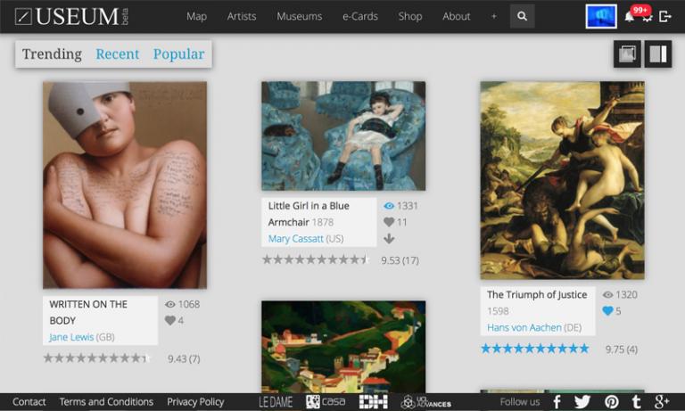 USEUM Online Art Gallery