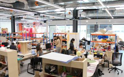 Students from the School of Architecture's Design for Performance and Interaction Master's programme