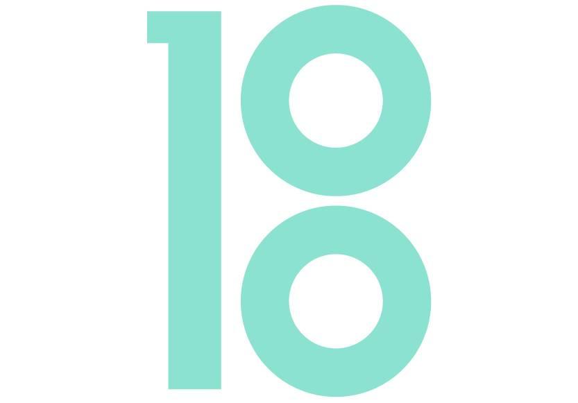 large bartlett 100 logo on white background