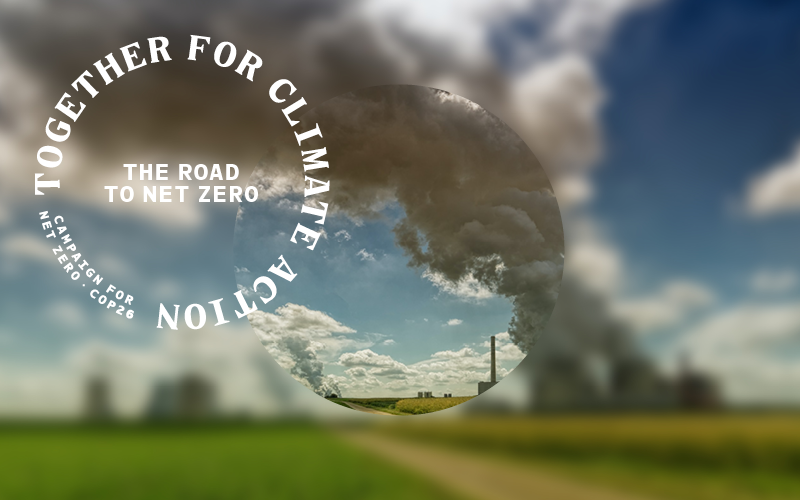 The road to net zero theme image