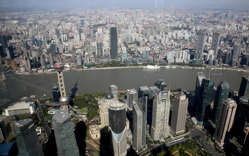 View of Shanghai from the China Academission trip 2017