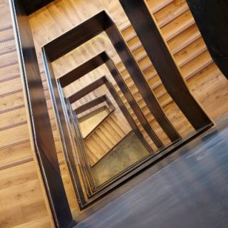 Staircase in 22 Gordon Street