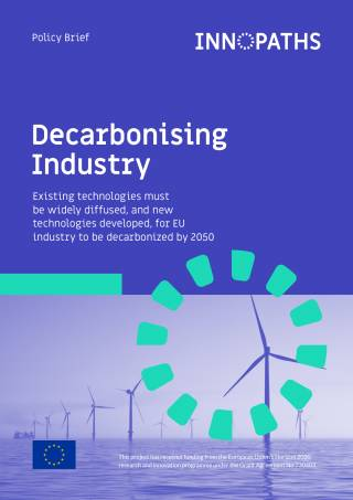 Decarbonising industry policy brief cover