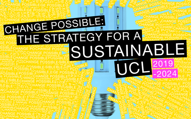 Change possible, the strategy for a sustainable UCL 2019-2024