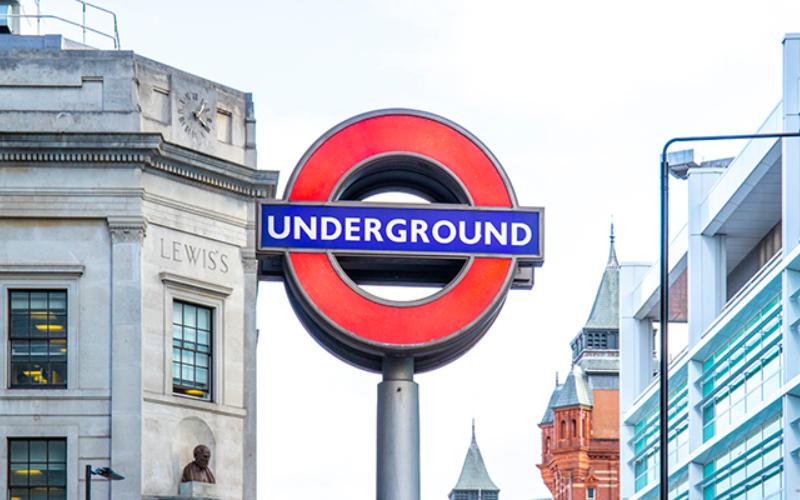 Picture of underground symbol