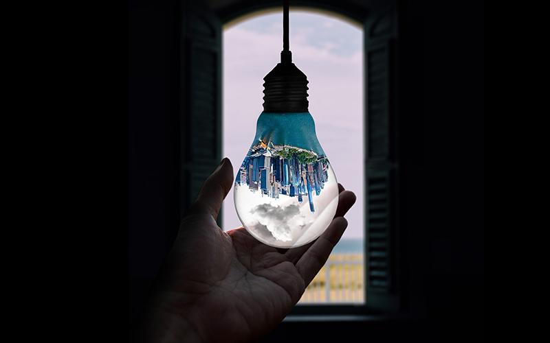 light bulb city
