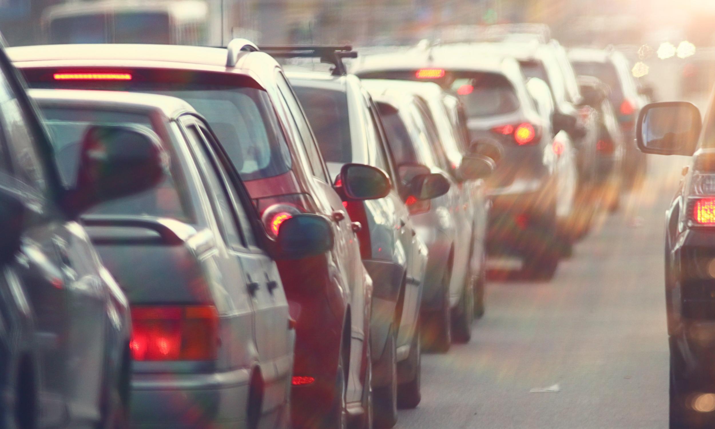 istock car pollution