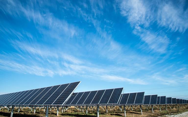 resized solar panels