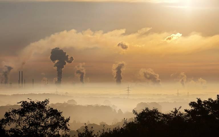 Ruhr pollution