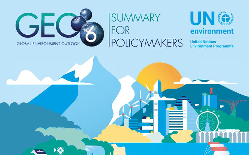 GEO 6 report cover