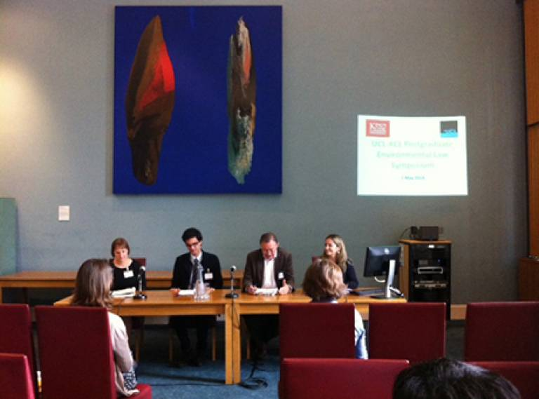 UCL KCL Laws symposium