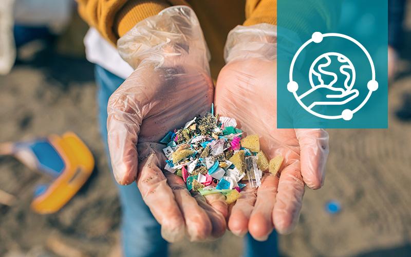 Image illustrating plastic in the oceans