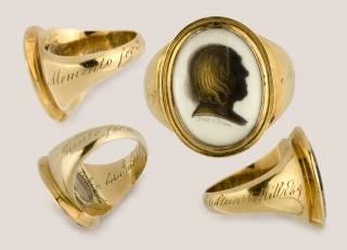 Bentham's mourning rings