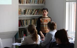 Froso speaking at Czech School