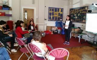 Talk at West Acton School
