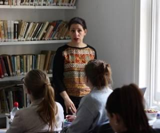 Froso at Czech School…