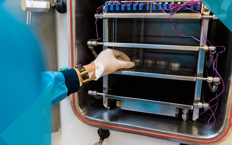 Biochemical engineering hand loading freeze dryer