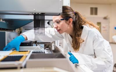 UCL Biochemical Engineering Tecan robot