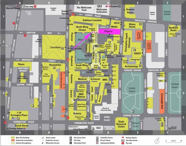 Physics map