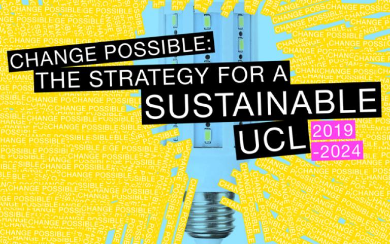 UCL sustainability logo