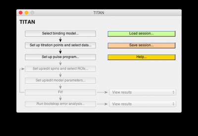TITAN interface