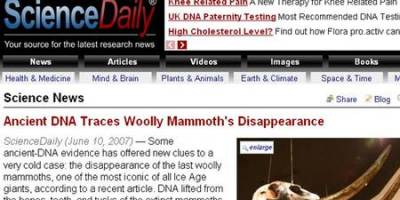 Science Daily WIDE