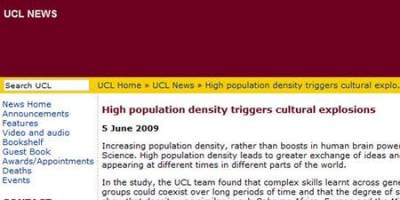 UCL press release