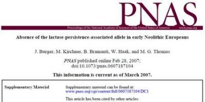 Scientific journal screenshot
