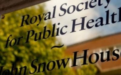 royal society public health plaque