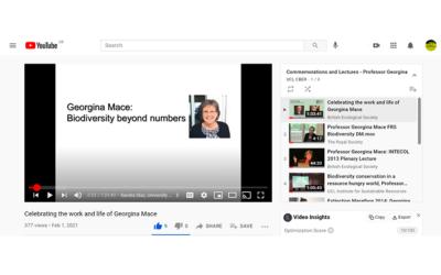 georgina mace on youtube