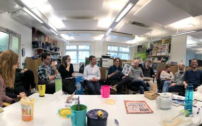 Lunchbox lecture at UCL CBER