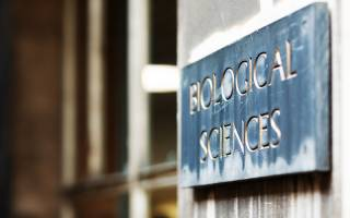 UCL Biological sciences plaque