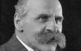 JDS Haldane portrait image