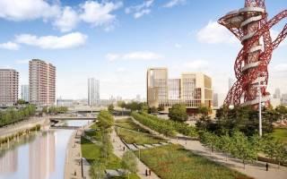Artists Impression of Stratford Olympic Park