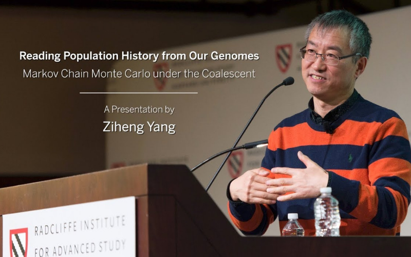 Ziheng Yang UCL Centre for Computational Biology on Youtube